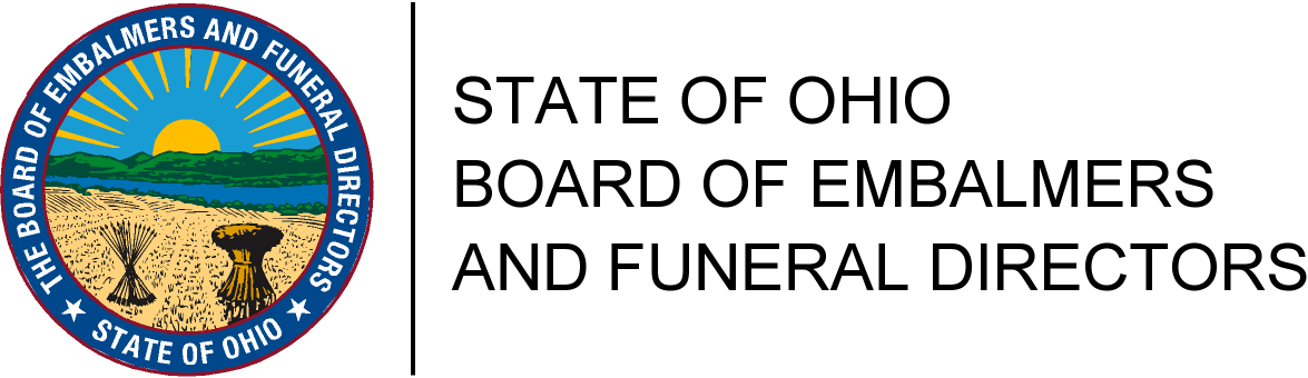 State of Ohio Funeral Board